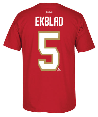 REEBOK FLORIDA PANTHERS EKBLAD #5 SR T-SHIRT