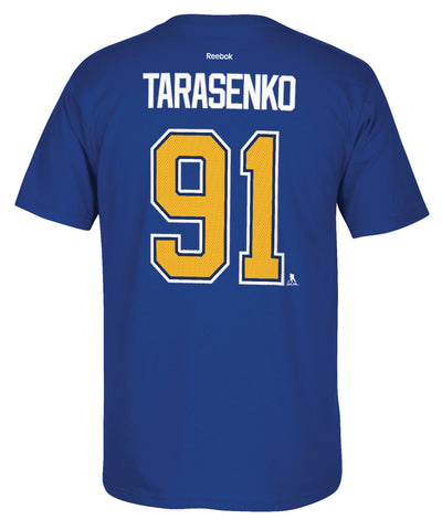 REEBOK ST.LOUIS BLUES TARASENKO #91 SR T-SHIRT