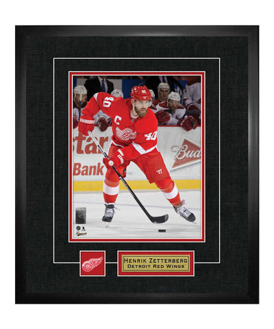 FRAMEWORTH DETROIT RED WINGS ZETTERBERG FRAMED 13X15