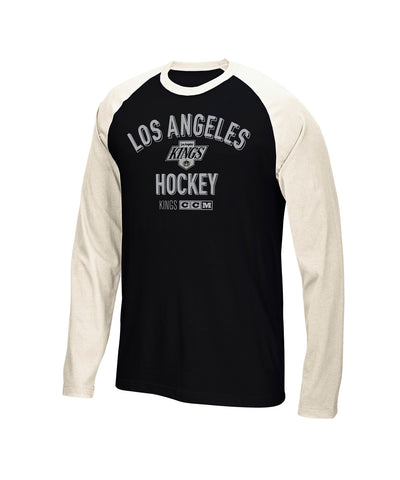 CCM LOS ANGELES KINGS LS CREW SR SHIRT