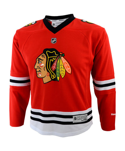 REEBOK CHICAGO BLACKHAWKS TODDLER REPLICA HOME JERSEY