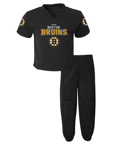 REEBOK BOSTON BRUINS INFANT FIELD GOAL PANT SET