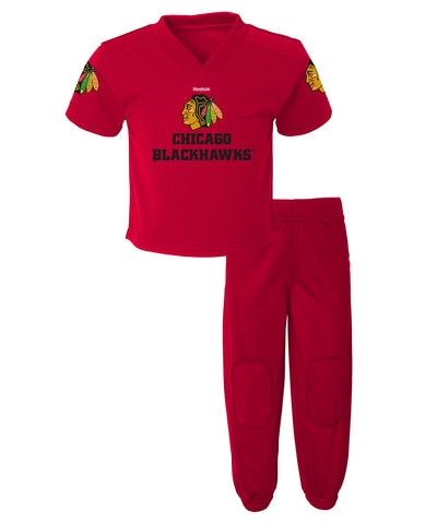 REEBOK CHICAGO BLACKHAWKS TODDLER FIELD GOAL PANT SET