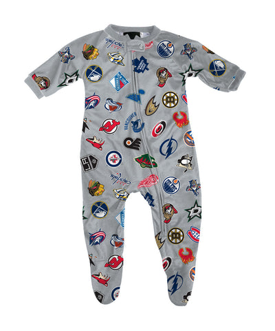 REEBOK NHL INFANT RAGLAN ZIPUP COVERALL