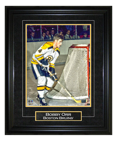 FRAMEWORTH BOSTON BRUINS BOBBY ORR 8X10 VIRTUAL FRAME