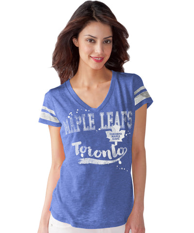 G-III TORONTO MAPLE LEAFS MVP WOMEN'S T-SHIRT