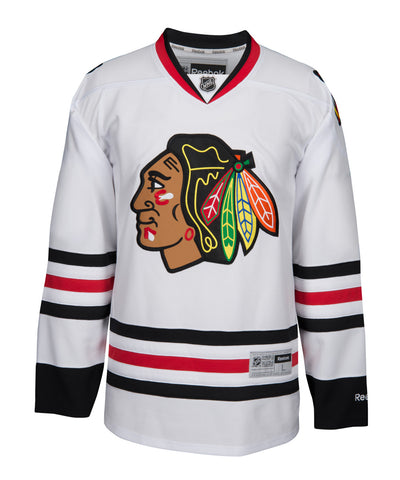REEBOK CHICAGO BLACKHAWKS MEN'S AWAY JERSEY