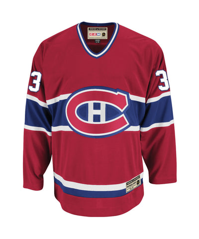 CCM MONTREAL CANADIENS ROY #33 HEROES OF HOCKEY SR JERSEY