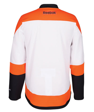 REEBOK PHILADELPHIA FLYERS 50TH ANNIVERSARY SR AWAY JERSEY