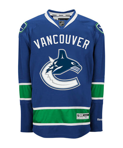 REEBOK VANCOUVER CANUCKS MEN'S HOME JERSEY
