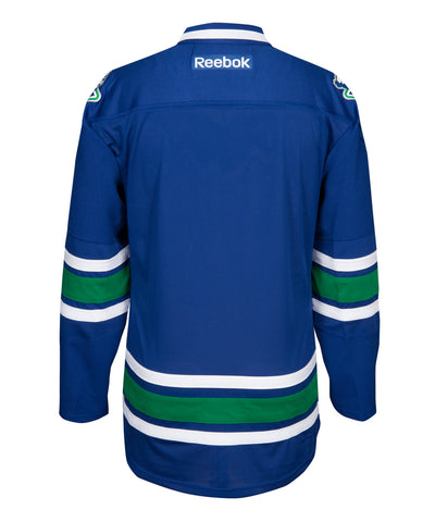 REEBOK VANCOUVER CANUCKS REPLICA KID'S THIRD JERSEY