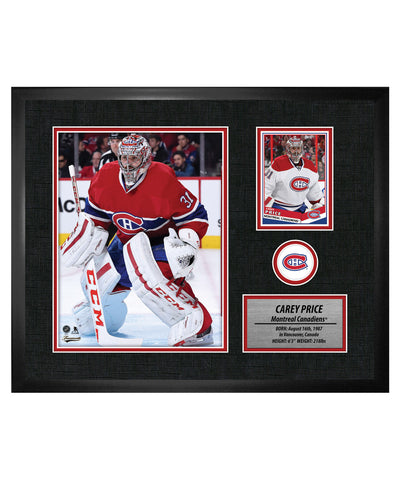 FRAMEWORTH MONTREAL CANADIENS PRICE FRAMED PHOTOCARD