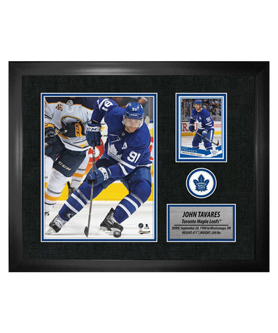 FRAMEWORTH JOHN TAVARES TORONTO MAPLE LEAFS FRAMED PHOTOCARD PRINT