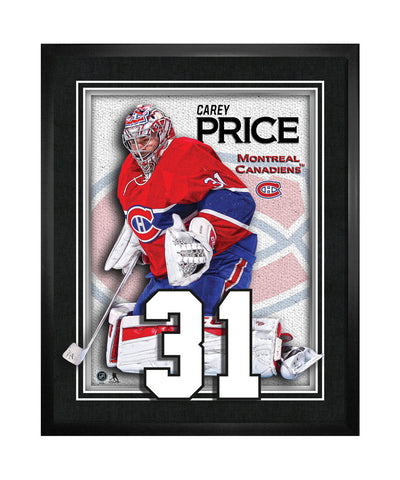 FRAMEWORTH MONTREAL CANADIENS PRICE NUMBERS FRAME
