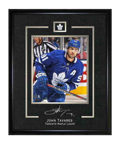 FRAMEWORTH JOHN TAVARES TORONTO MAPLE LEAFS FRAMED REPLICA SIGNATURE - 16X20