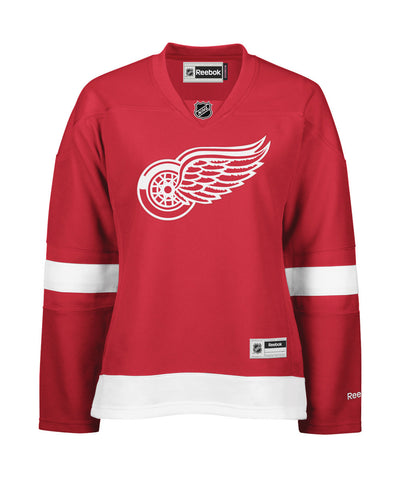 REEBOK DETROIT RED WINGS WOMEN'S HOME JERSEY