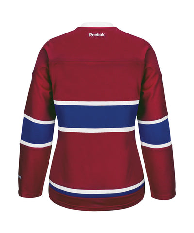 REEBOK MONTREAL CANADIENS WOMEN'S HOME JERSEY