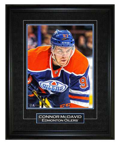 FRAMEWORTH CONNOR MCDAVID EDMONTON OILERS 8X10 VIRTUAL FRAME