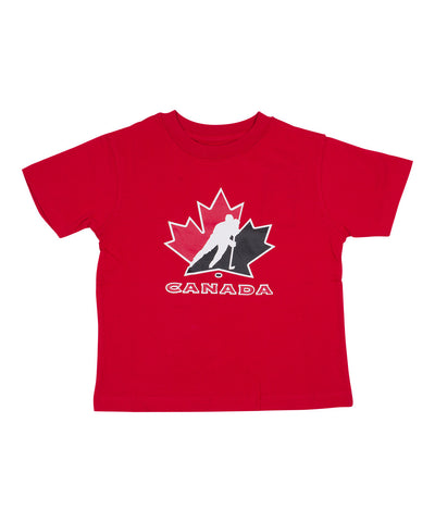 OLD TIME HOCKEY TEAM CANADA L'IL BIG YTH T-SHIRT