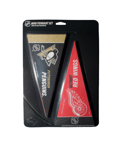 NATIONAL HOCKEY LEAGUE MINI PENNANT SET