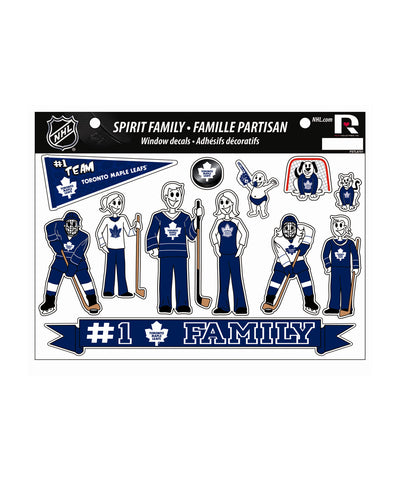 TORONTO MAPLE LEAFS SPIRIT FAMILY CAR DECALS