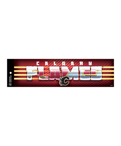 HUNTER CALGARY FLAMES BUMPER STICKER