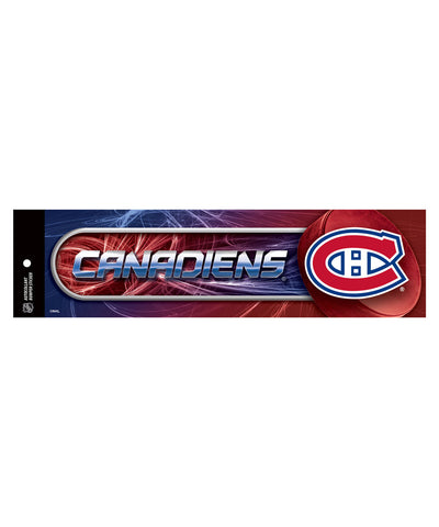 HUNTER MONTREAL CANADIENS BUMPER STICKER