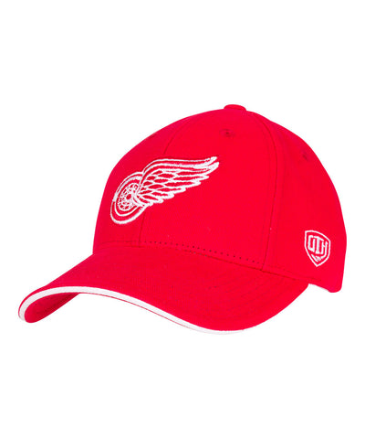 OLD TIME HOCKEY DETROIT RED WINGS RAISED REPLICA SR CAP