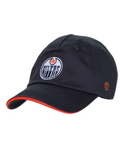 OLD TIME HOCKEY EDMONTON OILERS BASIC LOGO YTH CAP