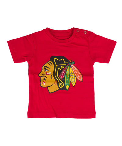 OLD TIME HOCKEY CHICAGO BLACKHAWKS L'IL BIG INFANT T-SHIRT