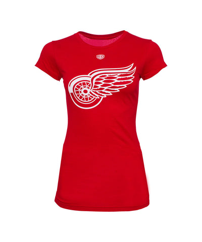 OLD TIME HOCKEY DETROIT RED WINGS WOMEN'S T-SHIRT
