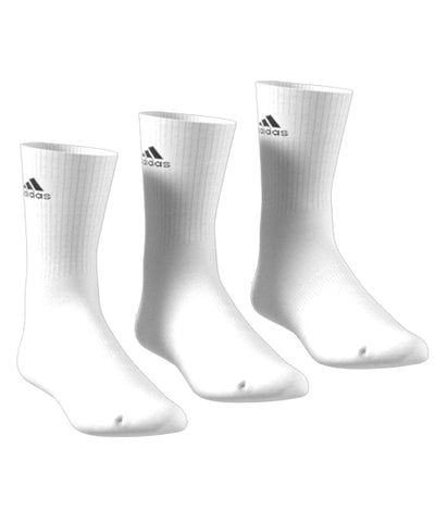 ADIDAS MEN'S 3 PACK HIGH SOCKS