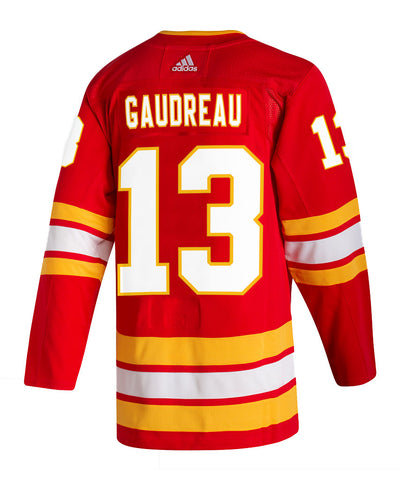 ADIDAS AUTHENTIC PRO CALGARY FLAMES JOHNNY GAUDREAU AUTHENTIC PRO JERSEY