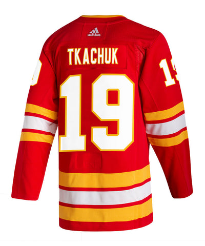 ADIDAS AUTHENTIC PRO CALGARY FLAMES MATTHEW TKACHUK AUTHENTIC PRO JERSEY