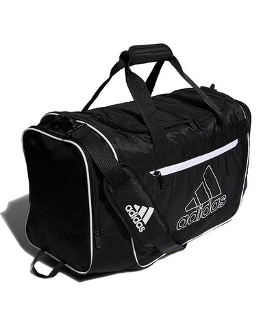 ADIDAS DEFENDER III MD DUFFLE BAG - BLACK/WHITE