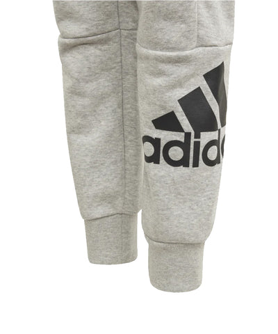 ADIDAS KIDS BADGE OF SPORT PANTS - GREY