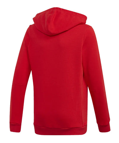 ADIDAS KIDS YB MH BADGE OF SPORT PO HOODIE - RED