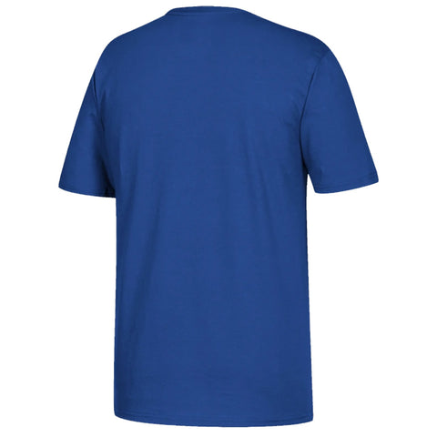 ADIDAS KID'S HOCKEY T SHIRT - BLUE