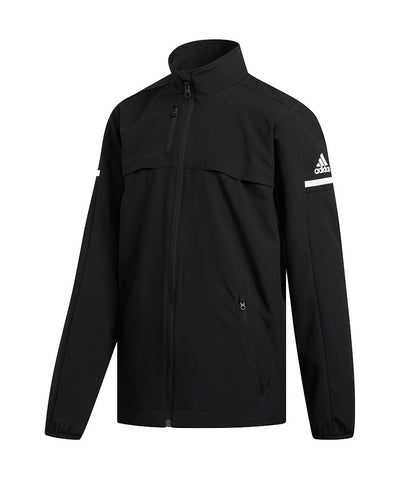 ADIDAS KID'S RINK JACKET - BLACK