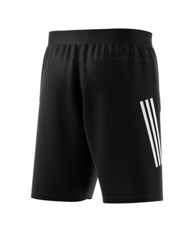 ADIDAS MEN'S 3 STRIPE TECH SHORTS - BLACK