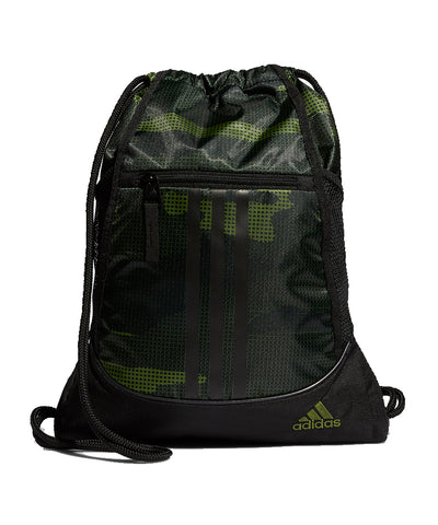 ADIDAS MEN'S ALLIANCE II SACKPACK - CAMO/BLACK