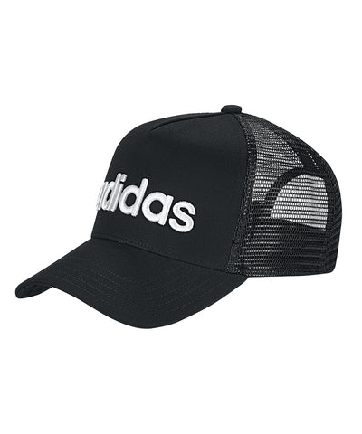 ADIDAS MEN'S CURVED TRUCKER HAT