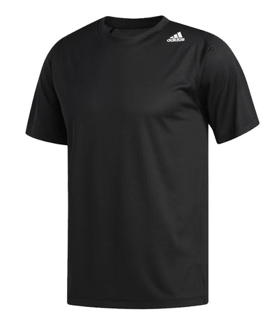 ADIDAS MEN'S FREELIFT SPORT TECH T SHIRT - BLACK