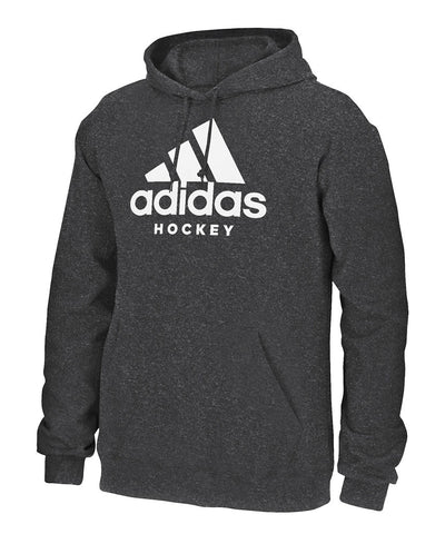 ADIDAS MEN'S HOCKEY HOODIE - GREY