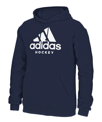 ADIDAS MEN'S HOCKEY HOODIE - NAVY
