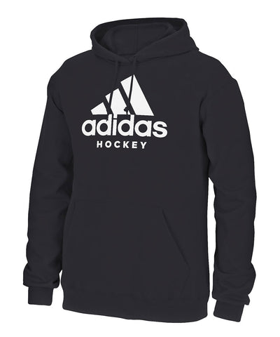 ADIDAS MEN'S HOCKEY HOODIE - BLACK
