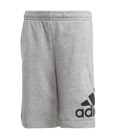 ADIDAS MEN'S JB BADGE OF SPORT SHORTS - GREY