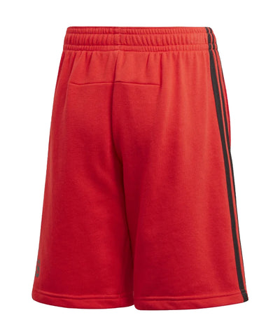 ADIDAS KIDS JB BADGE OF SPORT SHORTS - RED