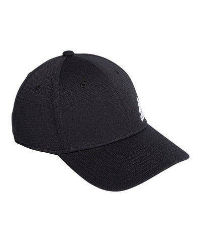 ADIDAS MEN'S MENS RELEASE II STRETCH FIT HAT- BLACK