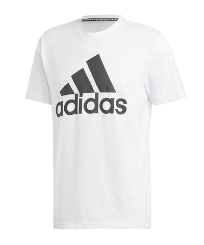ADIDAS MEN'S MUST HAVES BADGE OF SPORT T SHIRT - WHITE